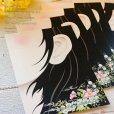 画像2: 【はがきサイズ/10枚入】<br>ラッピング台紙/耳flower (2)